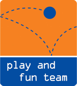mobil logo play and fun team